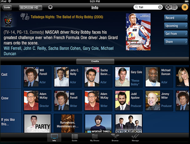 TiVo Premiere app turns iPad into remote, program guide | Macworld