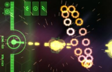 Trippy geometric shapes finally get their due in Neon Battle HD