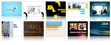 Theme makers unleash templates for Keynote, iWeb   Macworld