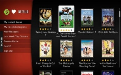 Using Netflix Watch Instantly to feed your Mac media center