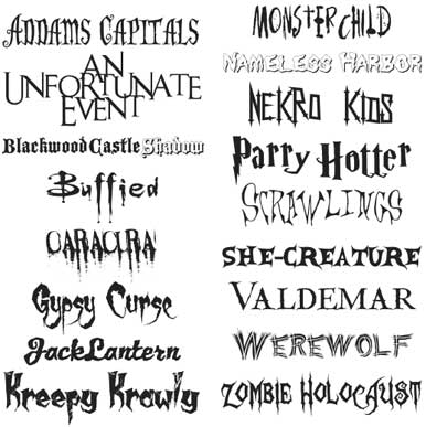 Scary fonts for Halloween | Macworld