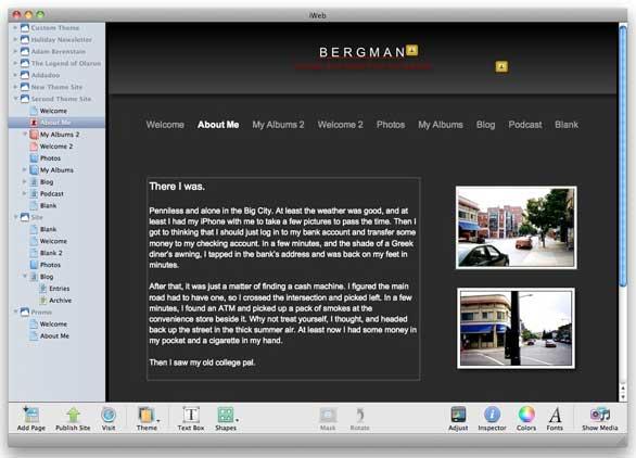 replenish your iweb themes macworld
