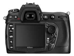 Nikon D300 back controls
