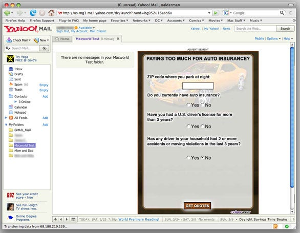 Review: Yahoo! Mail online e-mail | Macworld
