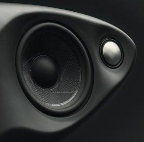 B&W Zeppelin speaker drivers