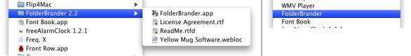 AppMenuBoy FolderBrander folder