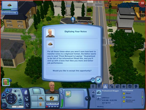 how to change sims career