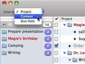 Task View menu