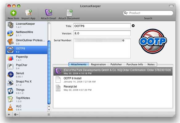 LicenseKeeper 1.4