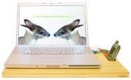 Kangaroom Bamboo Laptop Stand