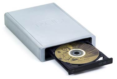 LaCie's d2 DVD±RW with LightScribe