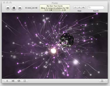 iTunes visualizers