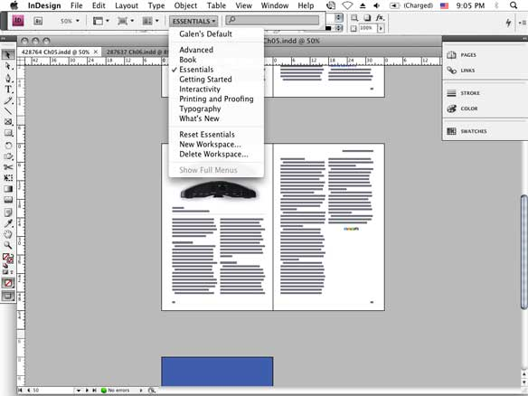 indesign cs4