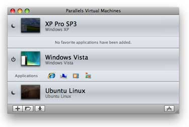 Virtual Machine Directory