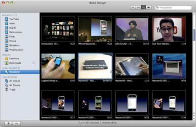 Web2 Delight lets you easily download videos from YouTube | Macworld