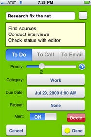 to do list for iphone macworld