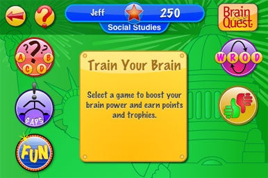 Brain Quest Blast Off for iPhone | Macworld