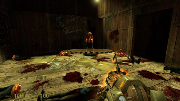 Enemies from the original Half Life stage a comeback