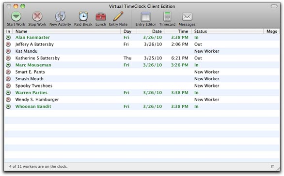 to add users you need to use the virtual timeclock pro client which you can either use on the server or install on any computer on your network