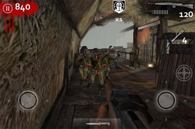 Call of duty world at war zombies ii for iphone macworld generic company place holder call of duty world at war zombies ii gumiabroncs Images