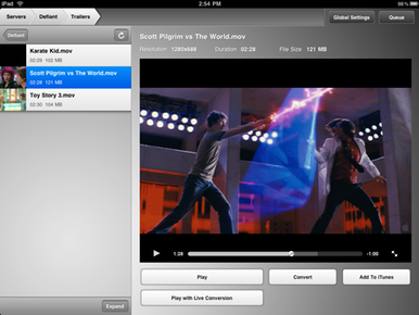 Air Video for iPhone and iPad