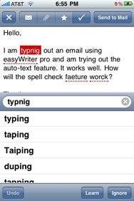 EasyWriter Pro for iPhone | Macworld