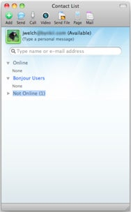 Microsoft Messenger and Communicator 2011