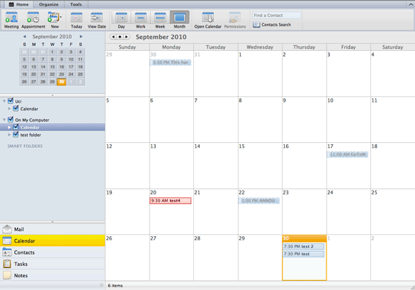 how to create a shared calendar in outlook mac