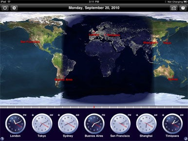 The World Clock for iPad | Macworld