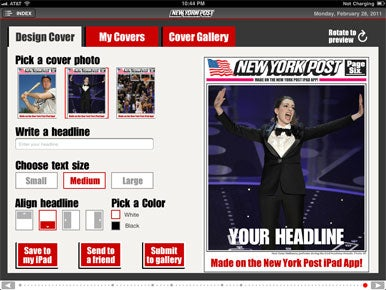 New York tabloid newspapers for the iPhone Review | News | iOS ...
