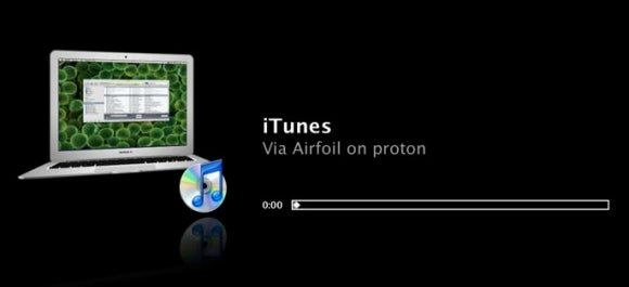 Airfoil Apple TV display