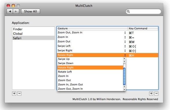MultiClutch window