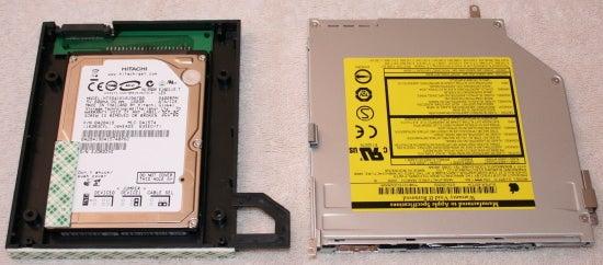 OptiBay next to SuperDrive