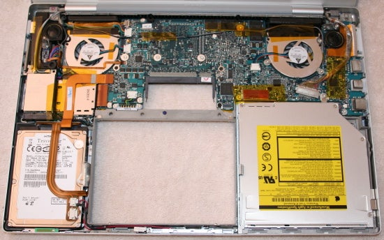 Inside the MacBook Pro